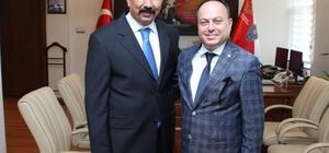 Afyonkarahisar Emniyet Müdürü Şen, Astana Büyükelçiliği İçişleri Müşavirliği'ne atandı ATSO Başkanı Serteser, Emniyet Müdürü Fahrettin Şen'i ziyaret etti