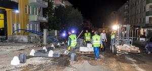 Mevlüt Aslanoğlu Caddesinde çalışmalar sürüyor Polat: Caddemizi ismine yakışır bir hale getiriyoruz