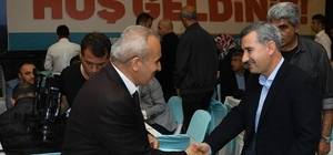 """Başkan Çınar, basın mensuplarını iftar yemeğinde ağırladı Yeşilyurt Belediye Başkanı Mehmet Çınar: """"Ortak projelerle yeşilyurt'u daha ileri taşıyacağız"""""""