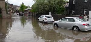 Kars'ta şiddetli yağış