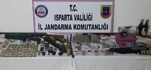 Isparta'da uyuşturucu operasyonu: 13 gözaltı