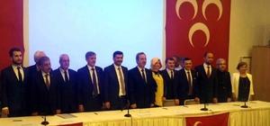 Kütahya MHP, milletvekili adaylarını tanıttı