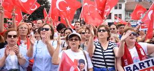 CHP'nin cumhurbaşkanı adayı İnce Bartın'da