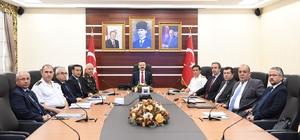 Kocaeli Valiliği'nden güvenlik ve asayiş koordinasyon toplantısı