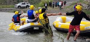 Hakkari Rafting Takımı Tunceli yolcusu