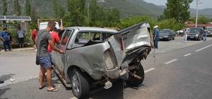 Köyceğiz'de zincirleme kaza; 6 yaralı Fethiye-Muğla kara yolunda meydana gelen trafik kazasında 6 kişi yaralandı