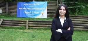 """Türkiye'nin en genç milletvekili adayı ilk kez konuştu AK Parti milletvekili adayı Elifnur Bayram: """"İnşallah milletime faydalı olmak için çalışmalar yapacağım, bu yolda her daim yürüyeceğim"""" """"Bu yaşta milletvekili adayı olmak gerçekten çok büyük bir şey, o yüzden çok mutluyum"""""""