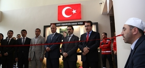 UMKE'nin Afrin şehidine vefa Afrin'de şehit düşen UMKE görevlisi Burak Tatar'ın adı 112 başhekimliğine verildi