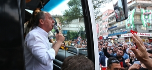 CHP'nin cumhurbaşkanı adayı İnce Düzce'de