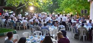 Başkan Edebali Bereket sofralarına konuk oldu