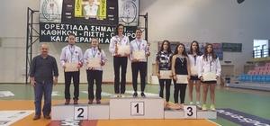 Yunanistan'dan 5 madalya ile döndüler