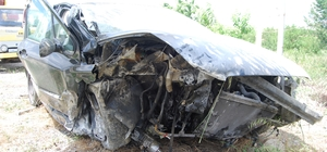 Tekirdağ'da trafik kazası: 1'i ağır 2 yaralı