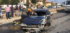 Kuşadası'nda trafik kazası, 3 yaralı