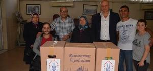 Avrupa Kütahyalılar Federasyonu'ndan Ramazan yardımı