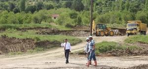 Başkan Cavit Erdoğan: Küçük Sanayi Sitesi projemizin hafriyat çalışmalarına başladık