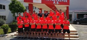Antalyaspor U16 takımı 2'nci oldu