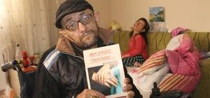 """Kendisi gibi engelli olan eşine sevgisini kitaplaştırdı """"Aşk Engel Tanımaz"""" kitabı ile eşine olan aşkını dile getirdi"""