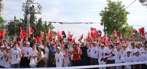Atatürk Koşusu Heyecanı Ergene´de yaşandı