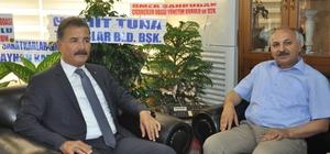 """Mersin ESOB Başkanı Dinçer: """"Toroslar Belediyesi ile işbirliğimiz sürecek"""""""