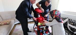 Van Büyükşehir Belediyesinden minik Muhammed'e destek