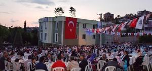 Dilovası'nda binlerce vatandaş iftarda buluştu