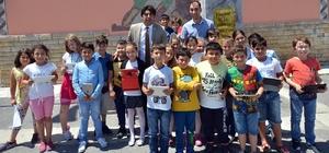 Yabancı öğretmenler Foça'da