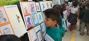 Küçük Enes ikinci resim sergisini açtı