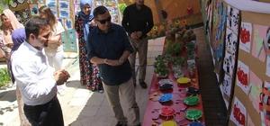 Sason'da miniklerin sergisi yoğun ilgi gördü
