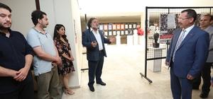 PAÜ Eğitim Fakültesi'nde Karma Heykel Sergisi açıldı