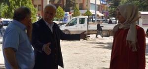 Reşadiye'de Meydan Parkı çalışmaları başladı