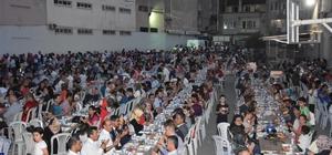 Gazi iftarına vatandaşlardan yoğun ilgi