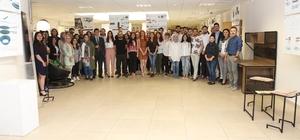 KBÜ öğrencileri '2.Mezuniyet Projeleri Sergisi' düzenledi