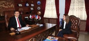 NÜKÇAM Müdürü Kahraman, Başkan Seçen'i ziyaret etti
