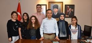 Şehit Ercan Hırçın Ortaokulu öğrencilerinden örnek davranış
