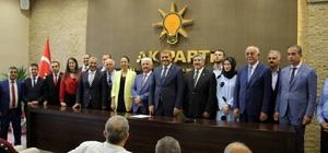 AK Parti Hatay milletvekili adayları İskenderun'da tanıtıldı