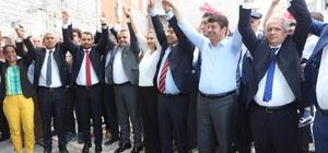 CHP Adıyaman milletvekili adaylarına coşkulu karşılama