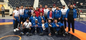 Ahi Evran Üniversitesi sporcuları Üniversiteler Güreş Şampiyonasına katıldı