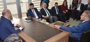 MHP'den AK Parti'ye ziyaret Başkan Ferhan Yıldırım: Kütahya'da seçimlerin galibi Cumhur İttifakı olacak