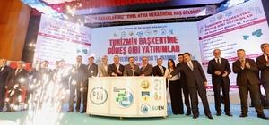 """Antalya'da 8 tesisin temeli atıldı, 2 tesis açıldı Orman ve Su İşleri Bakanı Veysel Eroğlu: """"Türkiye büyüdükçe önümüzü kesmek isteyenlerin sayısı artıyor"""" """"Ekonomik olarak çökertme hedefleri var. Hodri meydan diyoruz"""""""