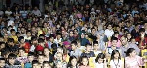 Şehitkamil ramazan şenlikleri çocukları mutlu etti Şenliklere yoğun katılım oldu