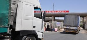 BM'den Suriye'ye 25 tırlık insani yardım