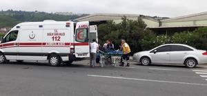 Otomobilin çarptığı 16 yaşındaki çocuk yaralandı