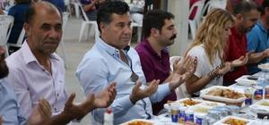 Başkan iftarda vatandaşlarla buluştu