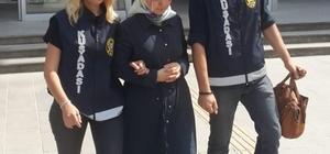 Yunanistan'a kaçarken yakalanan FETÖ üyesi bir kadın tutuklandı