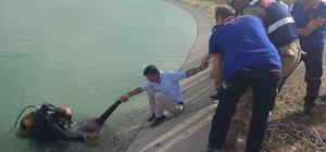 Sulama kanalına düşen Suriyeli boğuldu