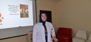 Melikgazi Sağlık Seminerlerinde bilinçli ilaç kullanımı konuşuldu