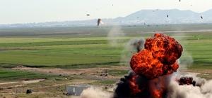 Kayseri Komando Tugayı göz doldurdu Komandolardan nefes kesen tatbikat