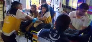 Ablasını rahatsız ettiği kişiyi bıçaklayarak ağır yaraladı