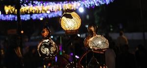 Su kabakları, Ramazan sokağını aydınlatıyor