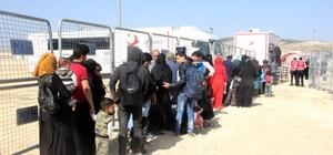 Bayram için gitmek isteyen Suriyelilerin sayısı 72 bine ulaştı